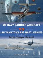 US Navy Carrier Aircraft vs IJN Yamato Class Battleships