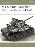 M4 (76mm) Sherman Medium Tank 1943–65