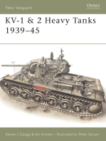 KV-1 & 2 Heavy Tanks 1939–45
