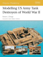 Modelling US Army Tank Destroyers of World War II