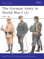 The German Army in World War I (3)