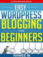 Easy WordPress Blogging For Beginners
