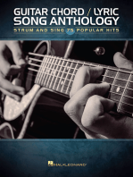 Guitar Chord/Lyric Song Anthology