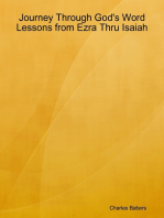 Journey Through God's Word - Lessons from Ezra Thru Isaiah