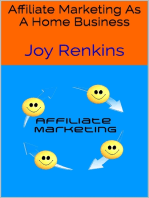 Affiliate Marketing As a Home Business