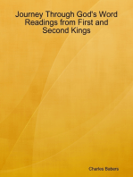 Journey Through God's Word - Readings from First and Second Kings