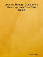 Journey Through God's Word - Readings from Ezra Thru Isaiah