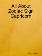 All About Zodiac Sign Capricorn