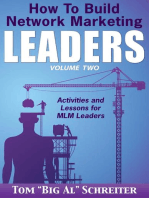 How To Build Network Marketing Leaders Volume Two