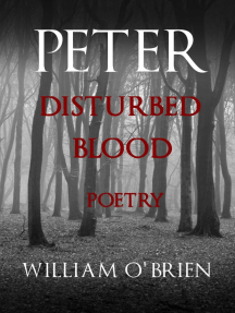 Peter: Disturbed Blood - Poetry (Peter: A Darkened Fairytale, #14)