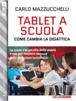 Tablet a scuola