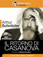 Il ritorno di Casanova (Audio-eBook)