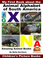 My First Book about the Animal Alphabet of South America