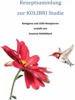 Rezeptsammlung zur KOLIBRI-Studie, 2013-2015