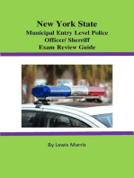New York State Municipal Entry-level Police Officer/Deputy Sheriff Exam Review