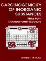 Carcinogenicity of Inorganic Substances