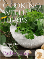 Cooking with Herbs Recipes Fresh from your Garden