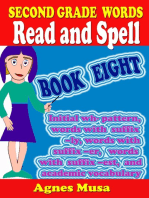 Second Grade Words Read And Spell Book Eight