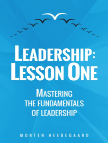 Leadership: Lesson One