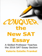 Conquer the New SAT Essay