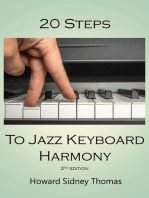 20 Steps to Jazz Keyboard Harmony