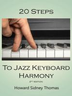 20 Steps to Jazz Keyboard Harmony