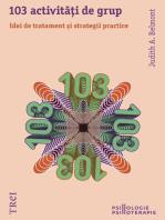 103 activități de grup. Idei de tratament și strategii practice