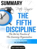 Peter Senge's The Fifth Discipline Summary