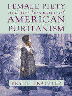 Female Piety and the Invention of American Puritanism