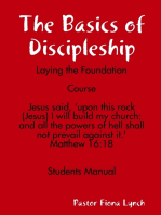 The Basics of Discipleship