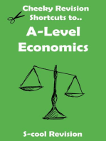 A level Economics Revision