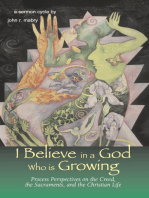 I Believe in a God Who is Growing