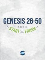 Genesis 26-50 from Start2Finish (Start2Finish Bible Studies)
