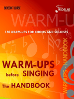 Warm-ups before singing: The Handbook