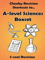 A-level Sciences Revision Boxset