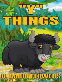 """""""Y"""" Things (A Children's Picture Book)"""