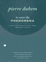 To Save the Phenomena
