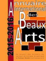 Annuaire international des Beaux Arts 2015-2016