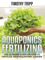 Aquaponics Fertilizing