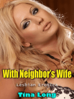 With Neighbor's Wife (Lesbian Erotica)