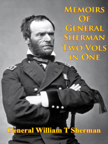 Memoirs Of General Sherman - 2nd. Edition, Revised And Corrected [Illustrated - 2 Volumes In One]