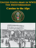 United States Army in WWII - the Mediterranean - Cassino to the Alps