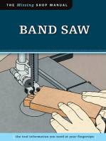 Band Saw (Missing Shop Manual)