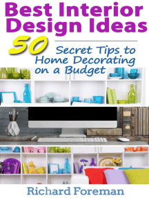 Best Interior Design Ideas : 50+ Secret Tips to Home Decorating on a Budget