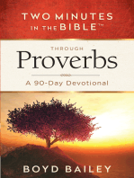 Two Minutes in the Bible™ Through Proverbs