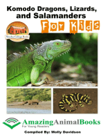 Komodo Dragons, Lizards, and Salamanders for Kids