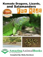 Komodo Dragons, Lizards, and Salamanders for Kids