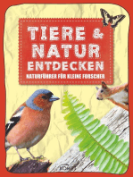 Tiere & Natur entdecken: Naturführer für kleine Forscher