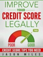 Improve Your Credit Score Legally