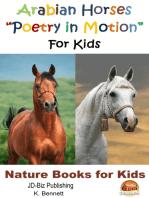 """Arabian Horses """"Poetry in Motion"""" For Kids"""